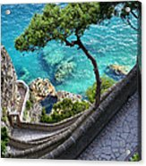 View From Capri.italy Acrylic Print