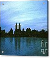 View From Central Park Acrylic Print