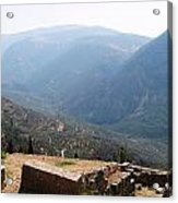 View From Delphi 2 Acrylic Print
