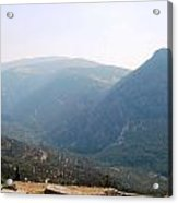 View From Delphi Acrylic Print