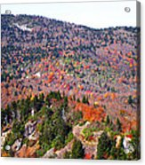 View From Devil's Courthouse 3 Acrylic Print