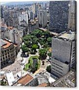 View From Edificio Martinelli 3 - Sao Pulo Acrylic Print