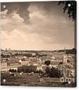 View From Hradcany Of Mala Strana Acrylic Print