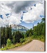 View From Kebler Pass Acrylic Print