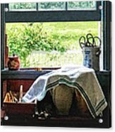 View From Kitchen Window Acrylic Print