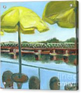 View From Martine's-new Hope Acrylic Print