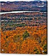 View From Mccauley Mountain Acrylic Print
