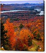 View From Mccauley Mountain II Acrylic Print