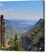 View From Montserrat Mountain Acrylic Print