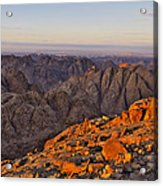 View From Mount Sinai Acrylic Print