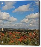 View From Mt Auburn Cemetery Tower Acrylic Print