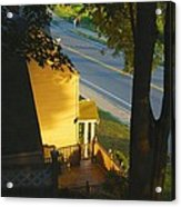 View From My Window On A Summer Afternoon  B-21 Acrylic Print
