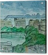 View From My Window Acrylic Print