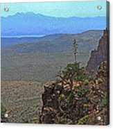 View From Parker Creek Canyon Acrylic Print