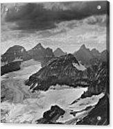 T-303501-bw-view From Quadra Mtn Looking Towards Ten Peaks Acrylic Print