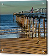 View From Saltburn Pier Acrylic Print
