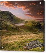 View From Snowdon Acrylic Print