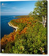 View From Sven's Bluff Acrylic Print
