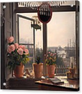 View From The Artist's Window Acrylic Print
