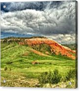 view from the Chief Joseph Highway  Acrylic Print