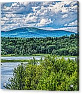 View From The Dam Acrylic Print