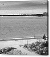 View From The Fort Gratiot Light House Acrylic Print
