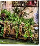 View From The Grand Canal China Acrylic Print