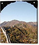 View From The Great Wall 696 Acrylic Print