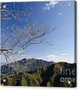 View From The Great Wall 842 Acrylic Print
