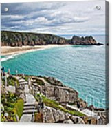 View From The Minack Theatre Acrylic Print