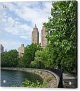 View From The Park West Side Acrylic Print