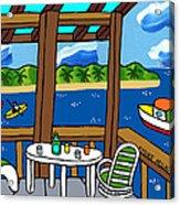 View From The Porch - Cedar Key Acrylic Print