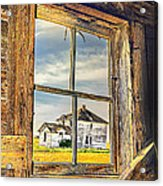 View From The Stable Acrylic Print
