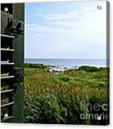 View From The Window At East Point Light Acrylic Print