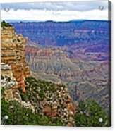 View From Walhalla Overlook On North Rim Of Grand Canyon-arizona  Acrylic Print