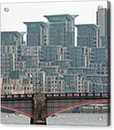 View From Westminster Bridge Acrylic Print