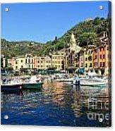 view in Portofino Acrylic Print