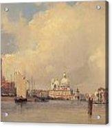 View In Venice Acrylic Print
