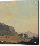 View Near Fort Gwalior, India, C.1783 Acrylic Print