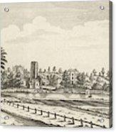 View Near Lichfield  (staffordshire) Acrylic Print