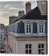 View Of Apartments On Rue Beauregard Acrylic Print