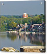 View Of Boathouse Row  Acrylic Print