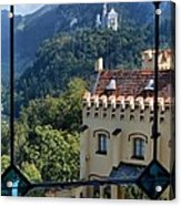 View Of Castles Acrylic Print