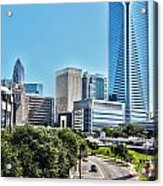 view of Charlotte North Carolina Acrylic Print