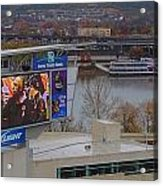 View Of Cincinnati Acrylic Print by Dan Sproul