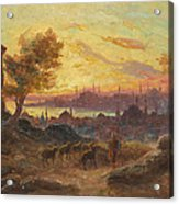 View Of Constantinople Acrylic Print