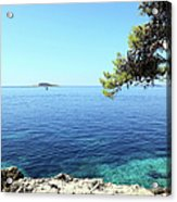 View Of Dubrovnik From Cavtat Peninsula Acrylic Print