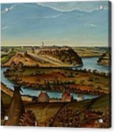 View Of Fort Snelling Acrylic Print by Edward K Thomas
