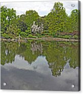 View Of Japanese Garden, Wroclaw, Poland Acrylic Print