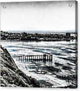 View Of La Jolla From Torrey Pines Cliffs Acrylic Print